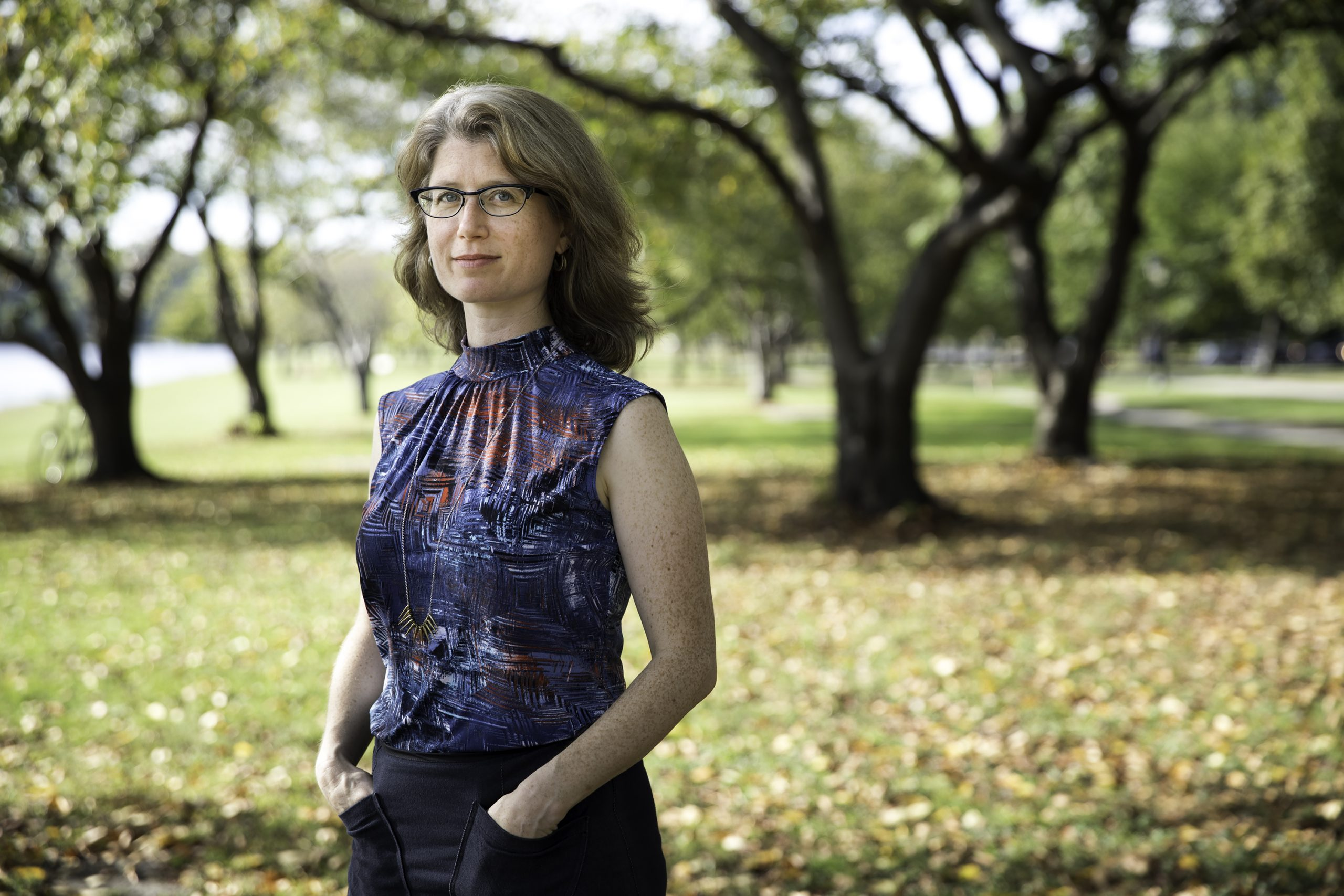 """Julia Bloch, director of Penn's Creative Writing Program, has just published a new book of poetry, """"The Sacramento of Desire,"""" completing a trilogy centered on her experiences in California. (Image: Pew Arts & Heritage Foundation)"""